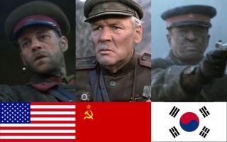 各国战争片苏军对待逃兵的态度