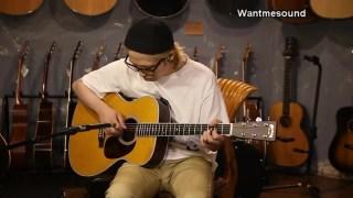 【吉他测评】马丁经典型号 Martin M36 音色试听