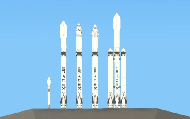 spaceX商業航天發展歷程《航天模擬器》_嗶哩嗶哩 (゜-゜)つロ 干杯~-bilibili