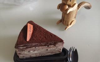 好吃的巧克力千层蛋糕