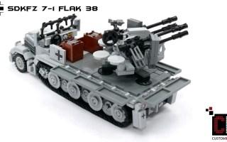 CustomBricks WW2 WWII Halftrack SdKfz Series aus LEGO _registered_ Steinen