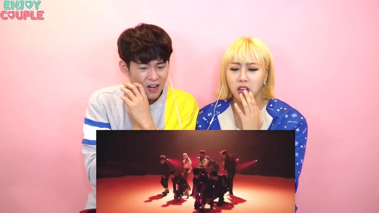 【EXO】韓國愛麗林拉拉跟男朋友一起看的TEMPO! reaction_嗶哩嗶哩 (゜-゜)つロ 干杯~-bilibili