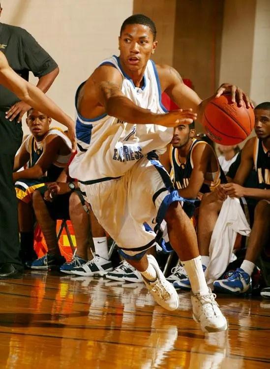 羅斯高中時期罕見照片—虎撲籃球圖片中心