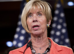 Rep. Janice Hahn (D-Calif.) said that she walked out of the National Day of Prayer event after comments by James Dobson. (Photo By Tom Williams/CQ Roll Call)