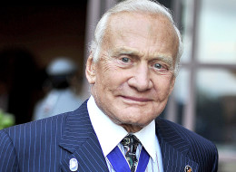 Astronaut Buzz Aldrin at a gala in Beverly Hills, Calif. on June 10, 2014.