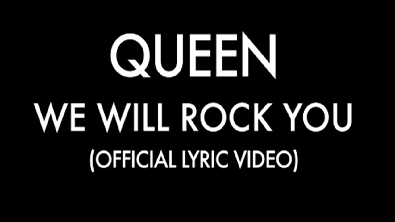 Queen  We Will Rock You Dinle  İzlesenecom