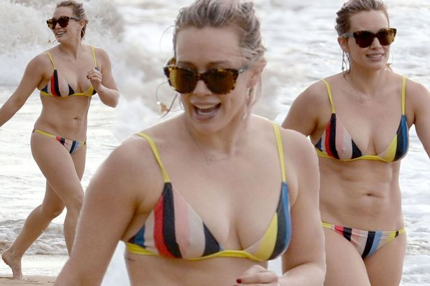 Image result for images, bikini, hillary duff