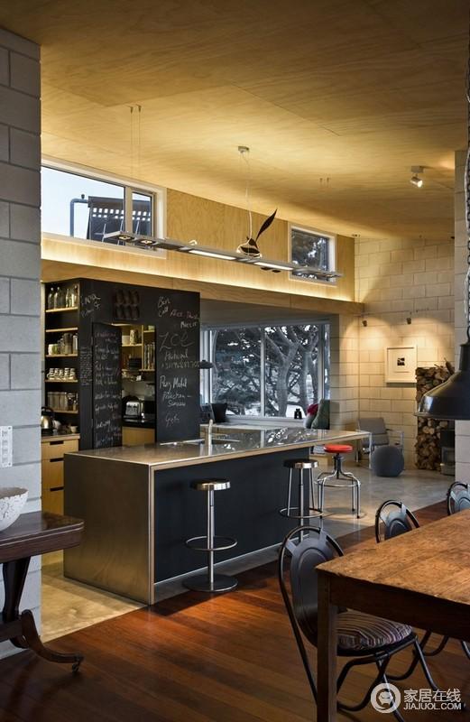 summit kitchens rustic kitchen tables 新西兰山顶的房子令人惊叹的设计 厨房 378106 家居在线装修效果图