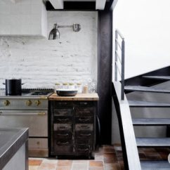 French Country Kitchens What To Use Clean Kitchen Cabinets 法国乡村小屋黑白色质朴有风味的家 欧式厨房 378473 家居在线装修效果图