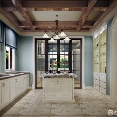 Tuscan Style Kitchen Pop Up Outlets For 托斯卡纳简朴但优雅设计风格 混搭厨房 405545 家居在线装修效果图