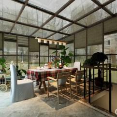 Grey Kitchen Mat And Bath Showroom 半开放式的厨房与餐厅通过一道窄墙作为分隔 墙体装饰白色文化砖 增添 增添文艺氛围 并与窗台处的置物柜色调呼应 棕褐色实木餐桌配合着米灰软垫餐椅 空间蕴含着随性美式