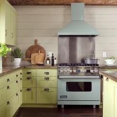 Green Kitchen Decor American Classics Cabinets 绿色厨房效果图 绿色厨房装修效果图 2019绿色厨房装修图片 家居在线 欧式风格厨房装修效果图