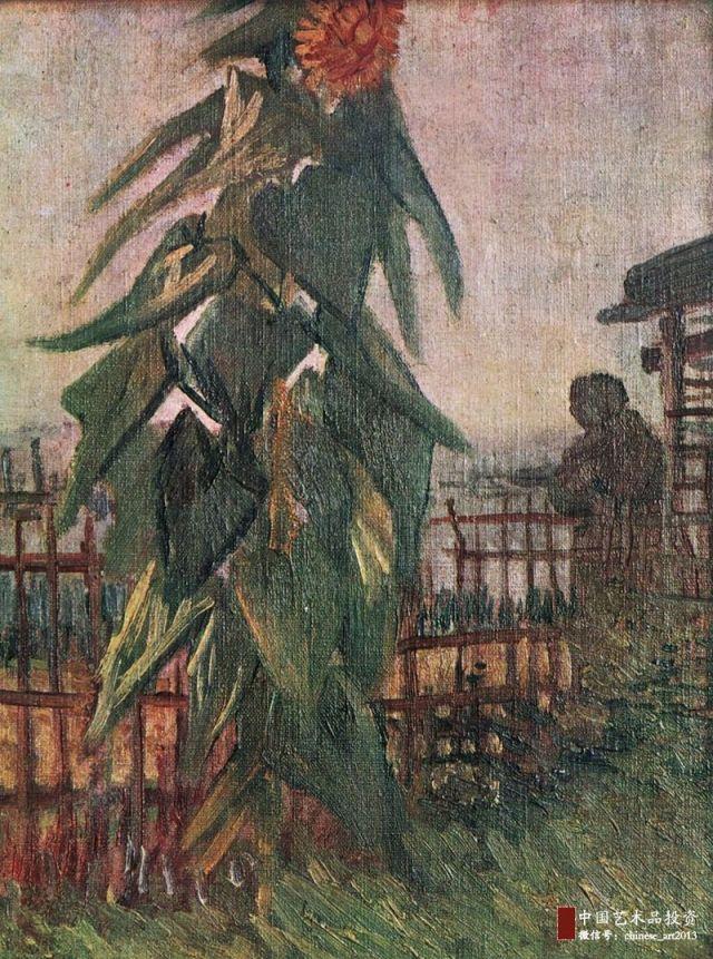 梵谷——向日葵系列作品 - 每日頭條