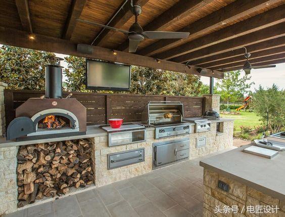 outdoor kitchen cost buy modern cabinets online 户外厨房的设计 每日头条 户外厨房