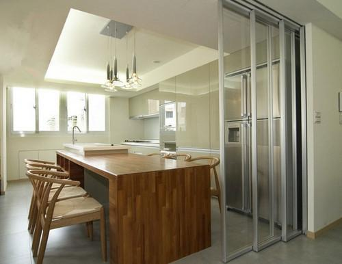 廚房移門看完吊軌的,就再也不考慮地軌 - 每日頭條