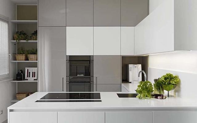 small space kitchen formica cabinets 小厨房怎么设计合理 看比人怎么搞 每日头条 无论是开放式还是封闭式厨房 小空间厨房都可以打造 只不过需要我们做好橱柜的设计 以及格局的的合理布局 这样才能营造良好的局面