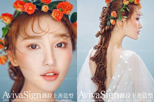 新娘面妝盤發流行趨勢看看你適合哪一款 內附怎麼挑到靠譜化妝師 - 每日頭條