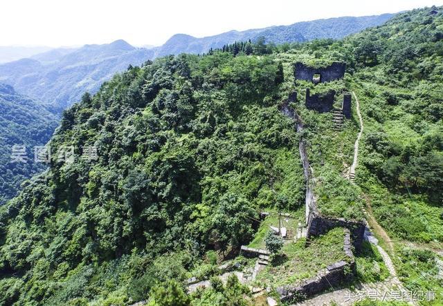 貴州:航拍世界遺產遵義海龍屯。700年古屯至今仍然撲朔迷離 - 每日頭條