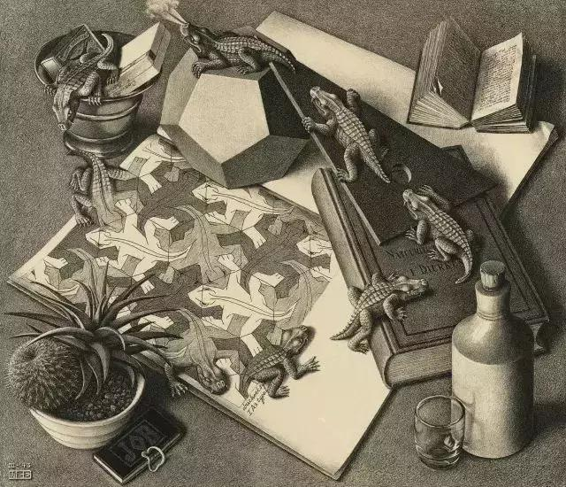 不可能的圖形:插畫家埃舍爾創造的那些腦洞大開的作品 - 每日頭條