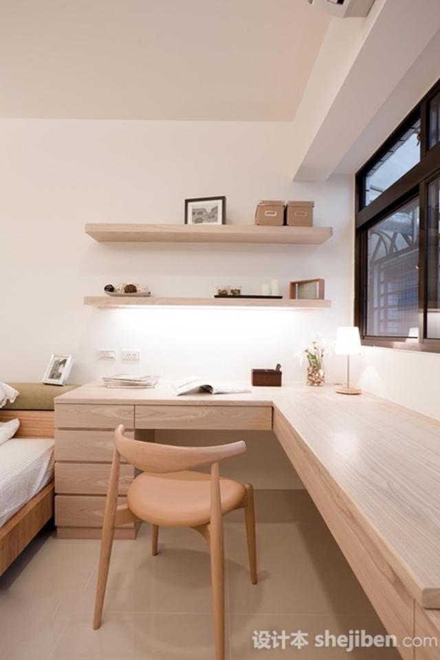 臥室兼書房的6種設計方法,你知道嗎? - 每日頭條