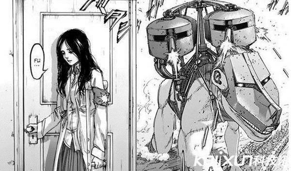 進擊的巨人漫畫最新章 車之巨人居然是妹子 - 每日頭條