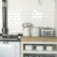 Subway Tiles In Kitchen Pantry Cabinets Freestanding 看了鄰居家裝的高顏值地鐵磚 老婆嚷嚷着也要裝 每日頭條 其實 為什麼叫地鐵磚還有一個小故事