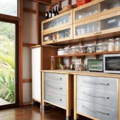 Skinny Kitchen Cabinet Base Cabinets 25款新潮独立式厨柜创意 有没有一款你中意的 每日头条 现代浅色厨柜在高瘦金属腿为现代和通风的感觉