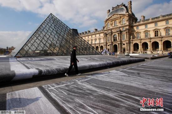 貝聿銘傑作——羅浮宮玻璃金字塔入口落成30周年 - 每日頭條