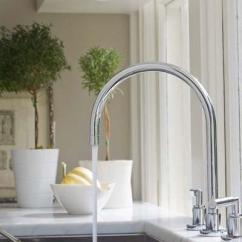 Farmhouse Kitchen Faucet Cabinet Range Hood Design 如何选购厨房水龙头 每日头条 缺点 温度调节不如双手柄水龙头精确