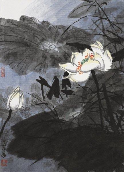 全新的寫實主義---國畫名家吳國亭的新派國畫欣賞 - 每日頭條