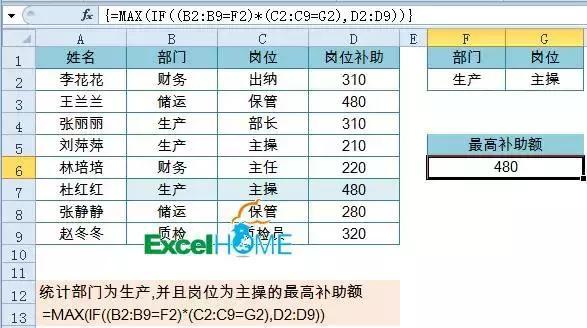 Excel多條件求和,多條件計數,多條件查找,應有盡有! - 每日頭條