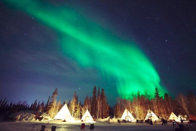 極光之旅~加拿大Yellowknife黃刀鎮追光攻略 - 每日頭條