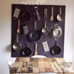 Kitchen Pegboard Old Fashioned Stool With Steps Peg Board简直了 家居收纳数第一 圈了一堆铁粉 每日头条 厨房pegboard