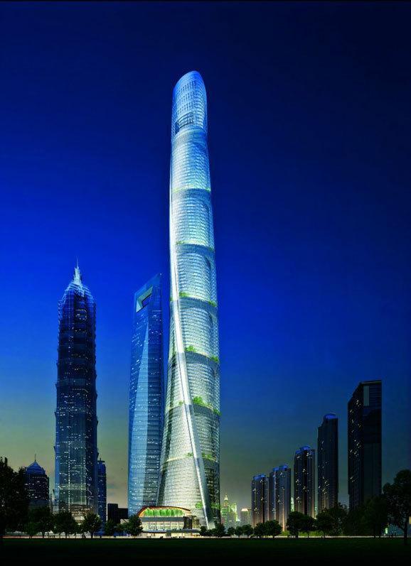 世界十大高樓,我大中華占了七座 - 每日頭條