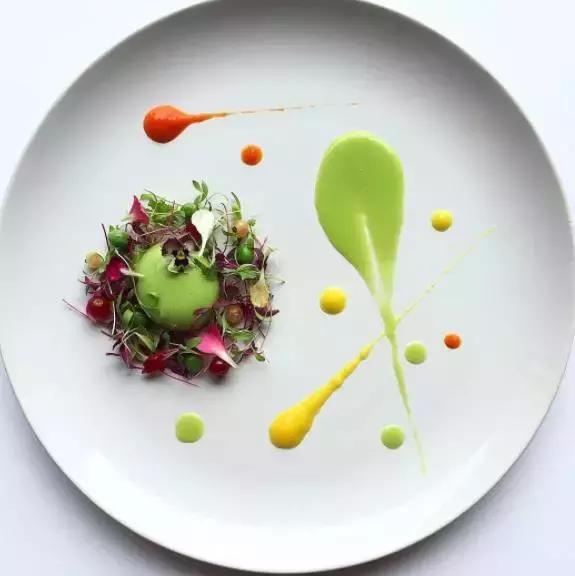 超簡單高大上的西餐擺盤常用醬汁裝飾 - 每日頭條
