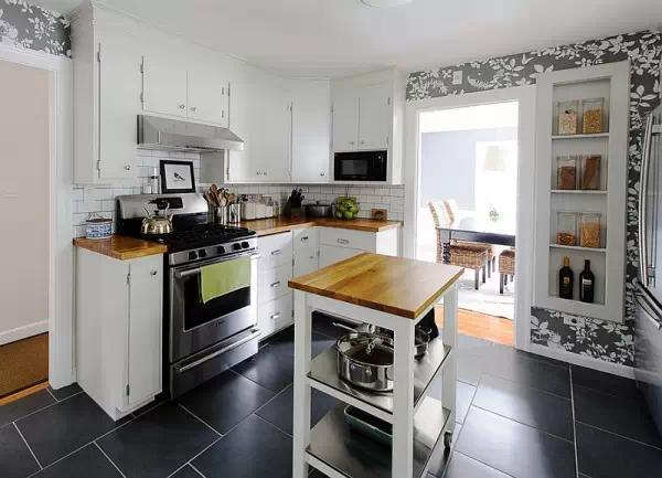 mobile island kitchen remodeling orlando 可移动岛式厨房 体验烹调美式的方便性 每日头条