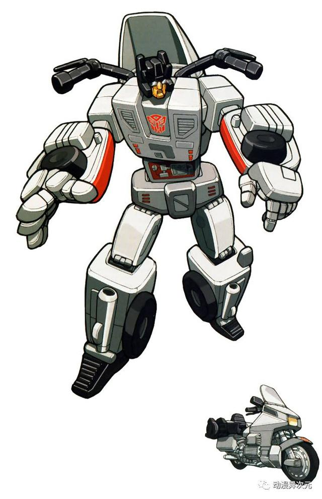 《變形金剛》G1和頭領戰士中的汽車人組合金剛 - 每日頭條