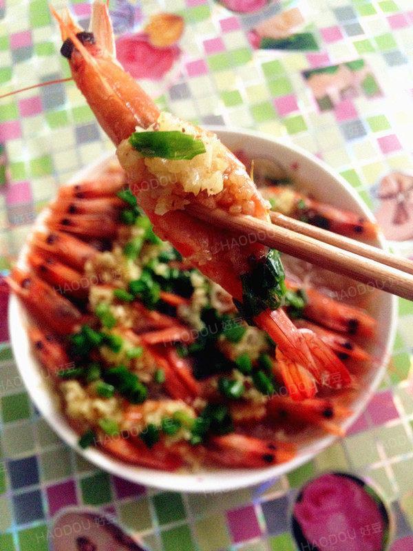 蒜蓉粉絲蒸蝦 - 每日頭條