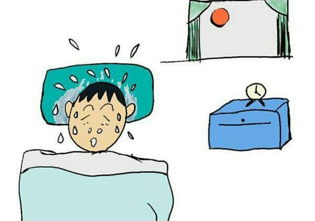 冬天睡覺為什麼會出汗?別大意! - 每日頭條