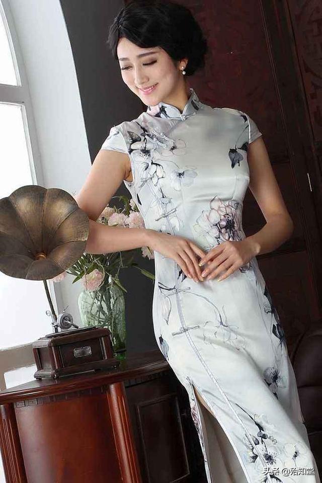 旗袍直到清末民初才演變為當時的流行服裝 - 每日頭條