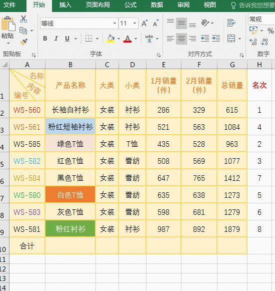 Excel篩選數字,以某字開頭與顏色及多條件與公式高級篩選怎麼用 - 每日頭條