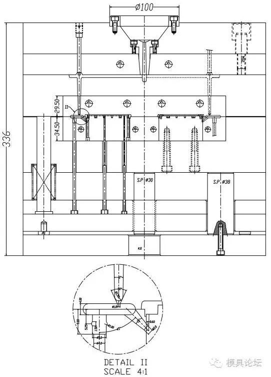 (中模)計算器面殼注射模具設計 - 每日頭條