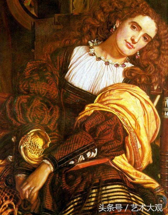 拉斐爾前派油畫典範作品欣賞 - 每日頭條