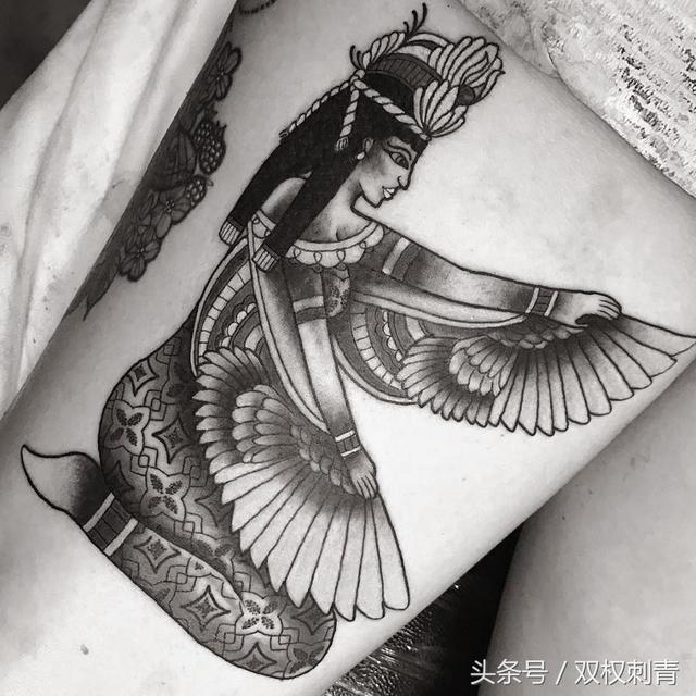 神秘古埃及傳說中的人物TATTOO - 每日頭條