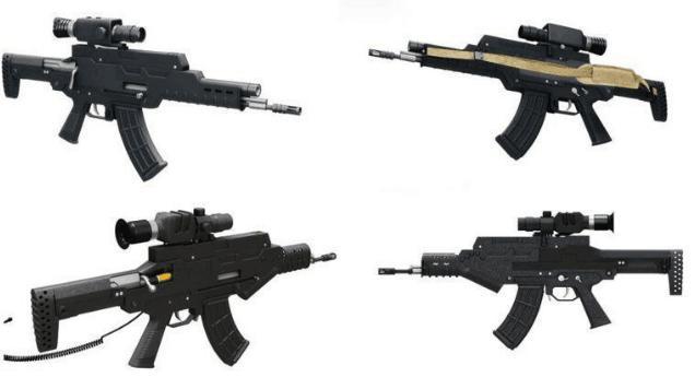 ZH-05中國最新款戰略智能突擊步槍 - 每日頭條