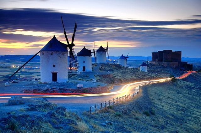 特色小鎮(22)西班牙風車小鎮孔蘇埃格拉 - 每日頭條