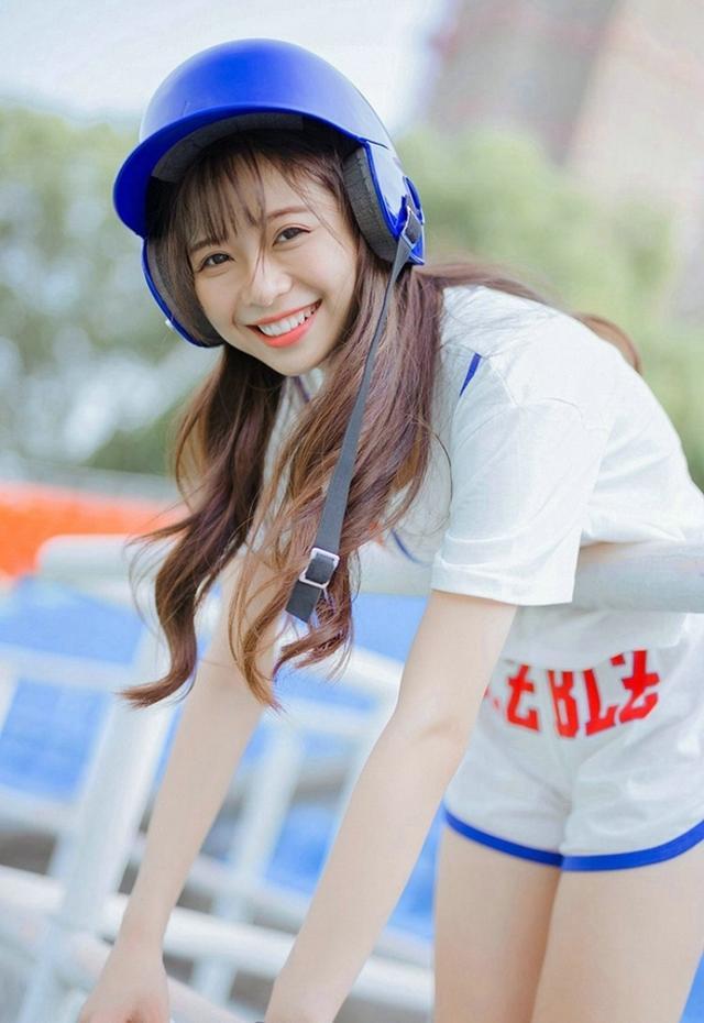 天使攝影:棒球女郎 活潑可愛 - 每日頭條