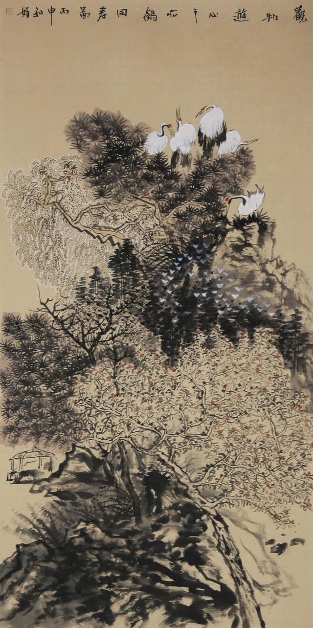 筆墨斑斕訴心音——國畫家馮娟 - 每日頭條