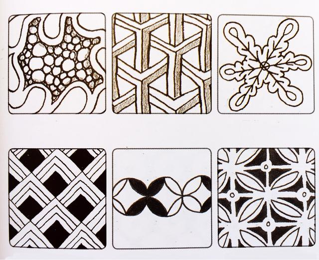 簡單就是終極的複雜——禪繞畫 基本圖樣(五) - 每日頭條