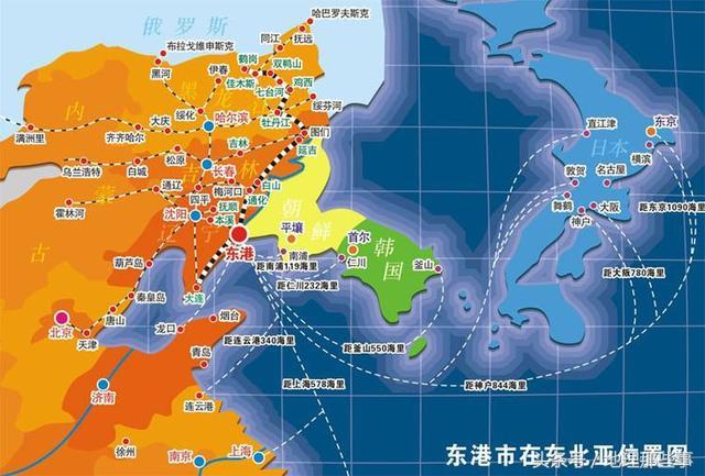 一區連6國,占亞洲總面積的近4成,東北亞這個地區真心不簡單 - 每日頭條